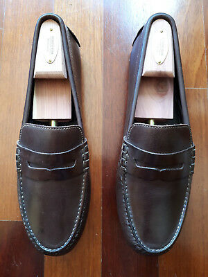 da7ed0e0503 COLE HAAN GRANT Canoe Brown Penny Loafer 8.5 M Driving Moccasins -  31.00