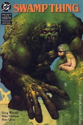 Swamp Thing (2nd Series) #102 1990 VF Stock Image