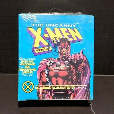 JIM LEE 1992 X-Men Series 1 Trading Cards Factory Sealed Box Marvel Impel NEW