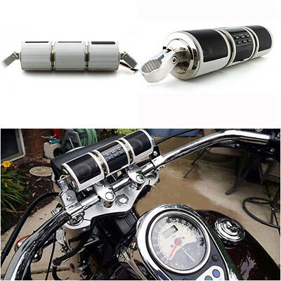 Luxury Waterproof Motorcycle Bluetooth Audio Stereo Speaker System MP3 USB/TF
