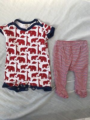 Boy/ Unisex Marquise And Fox And Finch Leggings/ Romper Set Newborn 000 0-3