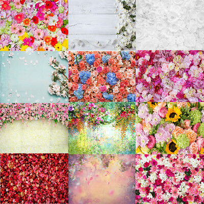 Valentine Day Theme Flowers Photography Background Cloth Studio Backdrop Prop