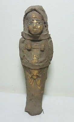 RARE ANCIENT EGYPTIAN ANTIQUE USHABTI Antique 1656-1364 BC