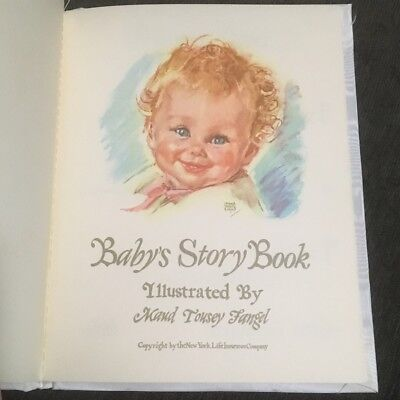 Vintage 1960s Baby Book Illustrated, Unique Shower Gift, Mid-century Collector