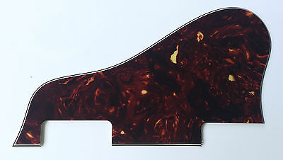 For Gibson Jazz Archtop No Screw ES 335 Guitar Pickguard , 4 Ply Brown Tortoise