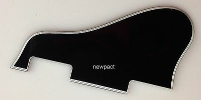 Guitar Parts Gibson ES 335 Jazz Archtop Guitar Pickguard NO screw, 5 Ply Black