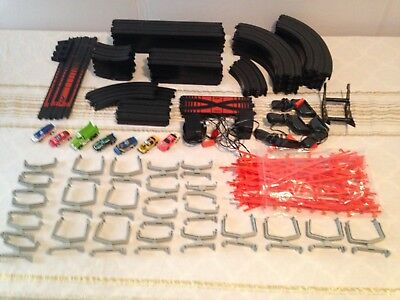 AURORA  AFX ,TYCO HO  SLOT CAR SET  INCLUDES  7 SLOT CARS - must see