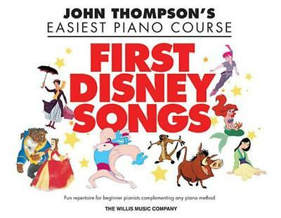 Thompson John Easiest Piano Course First Disney Songs Easy Pf Bk (John Thompson'