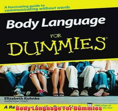 Body Language For Dummies PDF Format Fast Delivery
