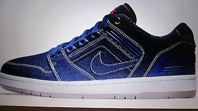 best sneakers 52ce6 cb392 Chaussure Nike SB Air Force II Low, Homme, Neuve, Bleue   Blanche,