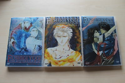 3x Fushigi Yûgi New OVA Vol.1 - 2 &  The Mysterious Play 3x DVDs