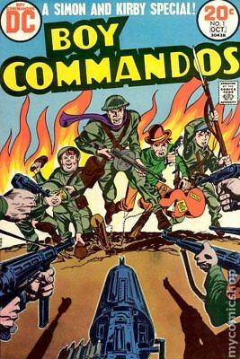 Boy Commandos (2nd Series) #1 1973 GD/VG 3.0 Stock Image Low Grade