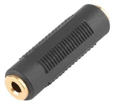 3.5mm Female to 3.5 mm Female Connector F/F Stereo Audio Coupler Adapter