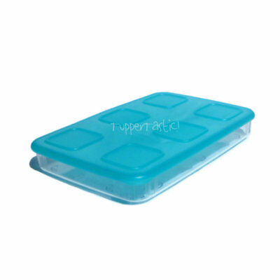 NEW Tupperware Clearmates Clear Mates Large Rectangle 1 685ml Blue Seal
