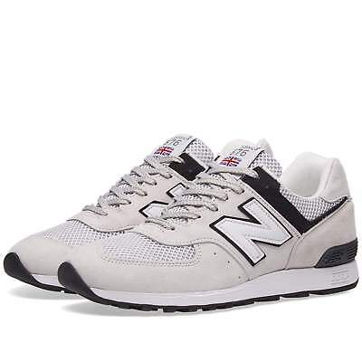 NEW BALANCE M576PGW sneakers uomo MADE IN ENGLAND suede sabbia/bianco €159