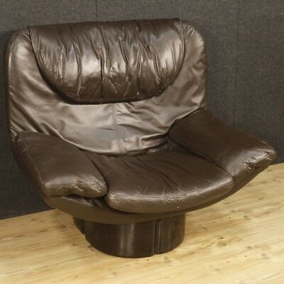 Armchair italian design furniture living room chair leather Acerbis style