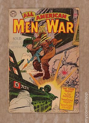All American Men of War #13 1954 GD+ 2.5