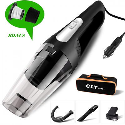 High Power Handheld Wet Dry Stronger Suction Portable Auto Car Vacuum Cleaner US