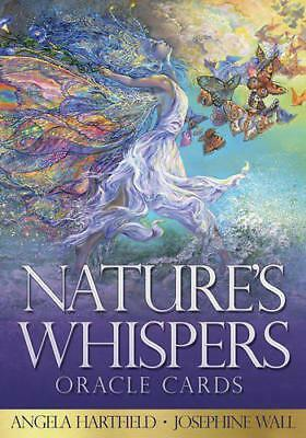 Nature's Whispers Oracle Cards: 50 full colour cards and 72-page guidebook set,