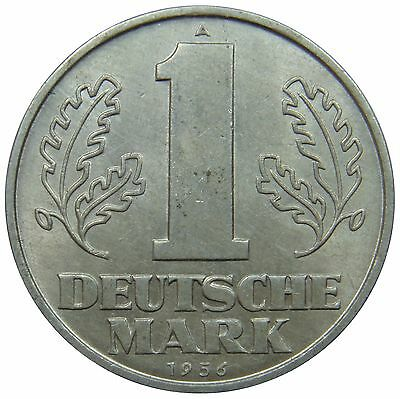 (F68) - Germany DDR - 1 Mark 1956 - Staatswappen - XF-UNC - KM# 13