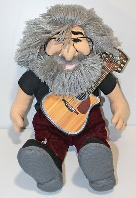 """Jerry Garcia 18"""" Doll by Gund for Liquid Blue 1998 Excellent + Condition"""