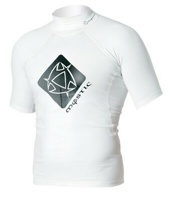 Mystic Rash Guard Star Lycra Shirt s/s White