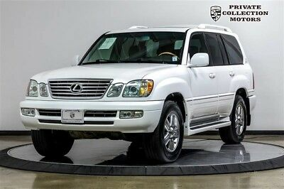 2006 Lexus LX  2006 Lexus LX 470 2 Owner Clean Carfax Low Miles Well Kept
