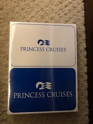 Princess Cruises Playing Cards NEW Double Deck Sealed