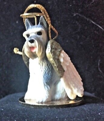 New - Schnauzer Dog Christmas Ornament By Tiny Ones/conversation Concepts/1.5""