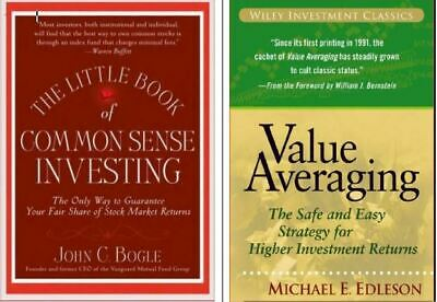Little book of Common Sense +Value Averaging  1 Free/Phone/Tab/PC*ONLY