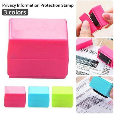 Safe Roller Stamper Identity Theft Protection Security Stamp Seal Self Guard ID