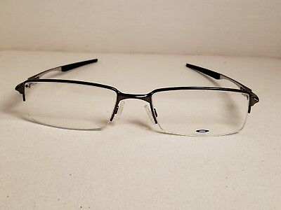 e2ce891e0f NEW AUTHENTIC OAKLEY HALFSHOCK OX3119-0455 Brushed Chrome 55mm Rx ...