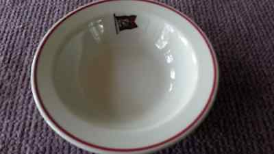 Algoma Central Railway Stamped Porcelain  Cereal Bowl, Made In England.