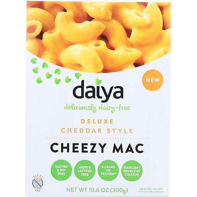 2 X Daiya Deluxe Cheddar Style Cheezy Mac, Dairy-free macaroni and cheese, 300g