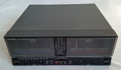 Sharp Stereo Cassette Deck RT-207H(BK)