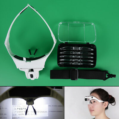 Headhand Led Lamps Light For Permanent MakeupTattoo Supplies Microblading Pip HH