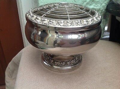 Lager  Lanthe  Silver Plated Rose Bowl
