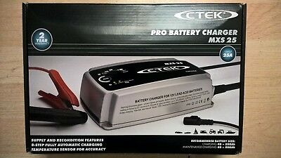 Ctek Mxs 25 Pro Battery Charger