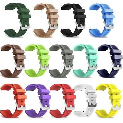Silicone Bracelet Strap Watch Band For Samsung Gear S3 Frontier Classic Series