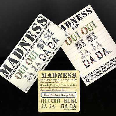 Madness - Oui Oui - Promotional Items Pack - Suggs Ska Stiff Beer Two 2 Tone