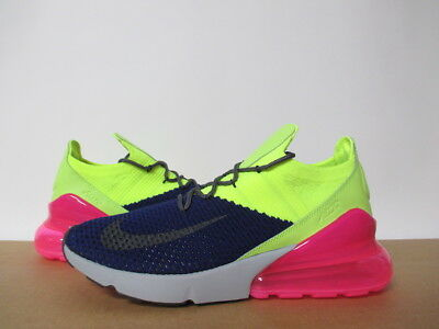 Ao1023 501 Nike Air Max 270 Flyknit Regency Purple Thunder Grey Pink Sz 8-14