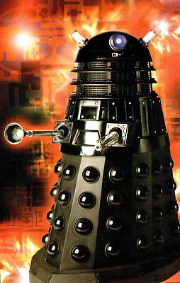 Postcard Dr Who The Supreme Dalek P129x