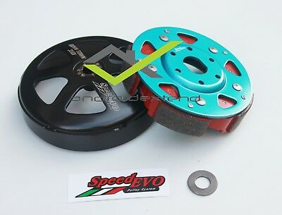 KYMCO DOWNTOWN 350i SPEED-EVO RACING 5-SHOE GRIP CVT CLUTCH + OUTER BELL