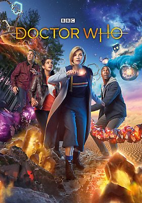 Dr Who Series 11 Lot Of 3 Modern Posters 8 X 11 Doctor Laminated Jodie Whittaker