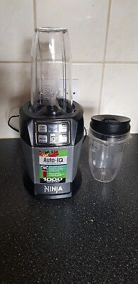 Nutri Ninja BL 480 Auto-iQ 1000W Extraction Blender Weight Loss Diet