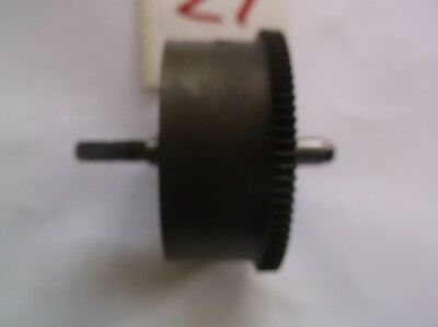 2 MAINSPRING BARRELS  FROM AN OLD  MANTLE CLOCK  REF z1 AND Z2