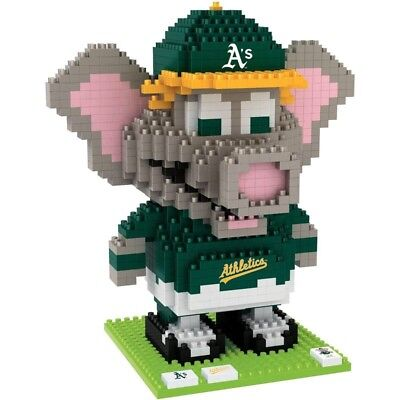 NIB...MLB Team Mascot BRXLZ Oakland Athletics 841pc set- Stomper