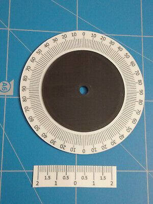 Declination setting circle for Star-Adventurer with L-bracket
