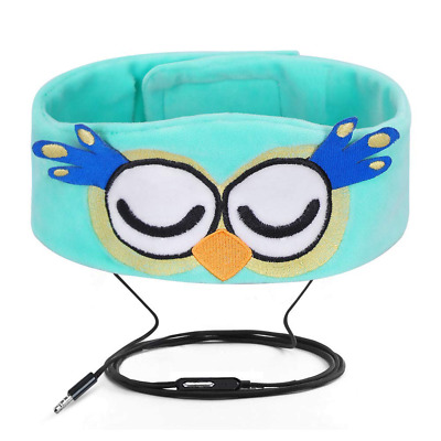 Wired Kids Headphones Ultra Thin Speakers Easy Adjustable Soft Fleece Headband