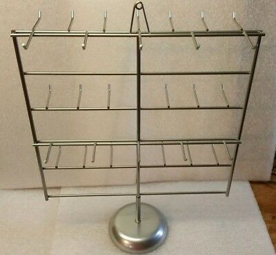 2 Counter Top Display Rack Metal Wire Store Rotating Spinning Table Top BM-1 2pc